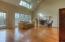 Vaulted ceiling, solid oak and plenty of natural light