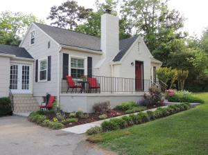 FRONT WITH BEAUTIFUL LANDSCAPING