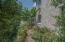 The herb garden......
