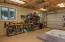 Awesome lower level Workshop w/garage door