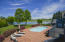 Saltwater pool with views of the Tennessee River