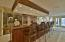 huge rec room lower level with mini kitchen'wet bar