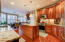Granite, HWD and stainless appliances