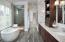 Luxurious Master Bath with soaker tub and walk-in shower