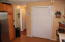 Doors to 1st bedroom