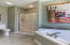 Master Bath Separate Shower & Comfort Toliet