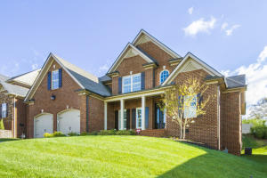 Stunning curb appeal w/ a covered front porch.