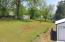 large level yard w/ mature trees
