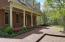 Expansive front porch with swing