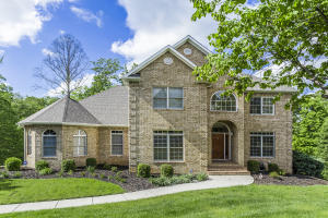 2 Story all brick home with full finished basement and Main Level Master Suite
