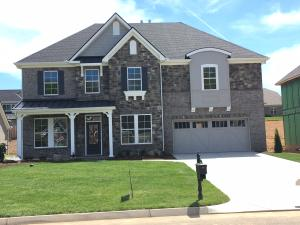 This is the European elevation with stone, brick and cement siding accents!