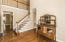 Two Story Foyer with Balcony, Oak stairs and treads and real Select and Better Hardwood floors