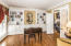 Custom wall to wall built-ins offer lots of space , three piece crown molding and Gleaming Hardwood floors