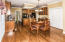Large Breakfast Room with huge Pantry- Perfect for entertaining or having a quick cup of morning coffee