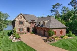 1701 Blue Water Way -- Stone and brick exterior