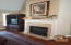 FAMILY ROOM- FIREPLACE