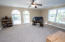 Large bonus room upstairs