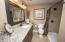 Beautiful full bath downstairs