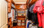 Master Custom Wood Closet Built-ins
