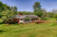 Rear of 2nd Home on Property: Sunroom & Deck & Views of the Spring!