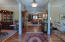 Wide Foyer with Laminate Wood Floors