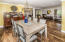 Formal Dining Open to Living & Breakfast Area.
