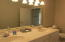 Guest Bath with Double Sinks