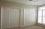 Double Closets in Bedroom Two