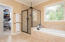 Rain Shower and Whirlpool Tub