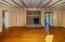 Family Room w/ beams & BrickFireplace