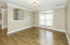 Living Room or Office opens to foyer and has crown molding & hardwood floor