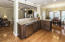 Beautiful Granite Counters and Oak Hardwood Floors