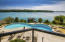 Enjoy Lake Views from your Heated Saltwater Pool!