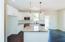 Beautiful full overlay white shaker cabinetry