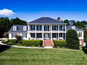 Gorgeous Southern Plantation style home in prestigious River Club Subdivision