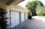 Three car attached garage.