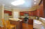 Perfect kitchen for entertaining with a large island and open view to the living room!