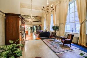 Main floor entry