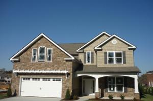 Craftsman Style Exterior w/ Covered Front Porch
