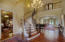 Grand Entry with Spiral Staircase leads into the Study, Formal Dining Room, and Living Room