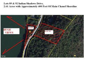 89&92 Indian Shadows Drive, Ten Mile, TN 37880