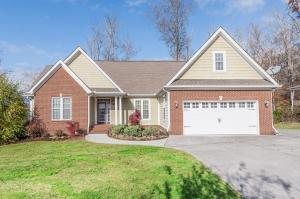 Beautiful brick and Hardie plank exterior with mountain views from front and back!