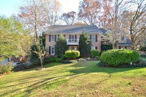 ¾ Brick 2 sty on .38 acres w/Forest behind! Hwd or Eng Hwds in all fam areas & Brs! Tile in all wet areas & all seasons rm! Updated flooring, vanities, granite tops, light & plumb fixs! Crown molding throughout the main & Master!