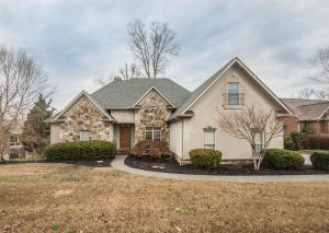 Beautiful European Basement Ranch with Golf Course Views from the front and back!