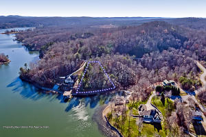 Beautiful Lakefront Lot Over One Acre with Gorgeous Views