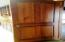 Solid Paneled Wood Door throughout the Home