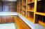 Great Room Opens to Private Office/Library w/Extensive Built-Ins