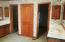 2 Large Walk-In Closets and Double Vanities