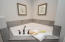Corner soaking tub