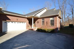1 owner custom built brick 4250 Sq.Ft. bsm ranch w/huge rec rm w/ woods behind! Owner stayed at home a few months a year-still in pristine condition! Unique to the Traditions is that this home has its own private driveway!